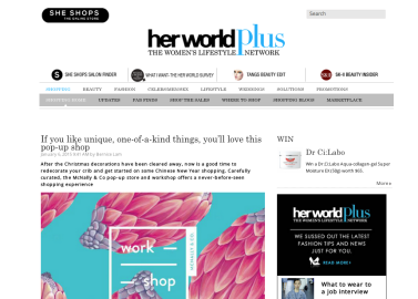 Featured in herworldplus (http://www.herworldplus.com/shopping/updates/if-you-unique-one-kind-things-you%E2%80%99ll-love-pop-shop#.VKuEHYuUezc)